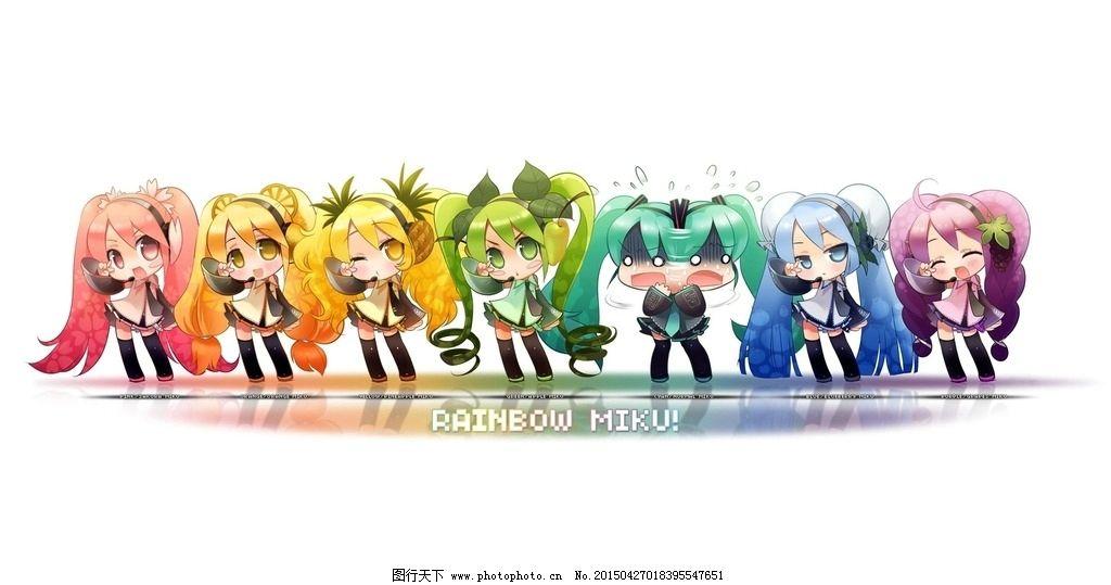 初音 初音未来 动漫 动画人物 日本动漫 动漫动画