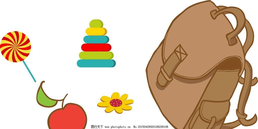 背包 棒棒糖图片_其他_标志图标_图行天下图库图片
