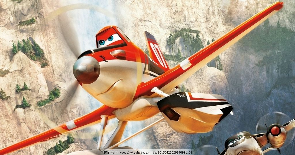 飞机总动员 动画 漫画 3d 螺旋桨 海报 电影 设计 广告设计 招贴设计