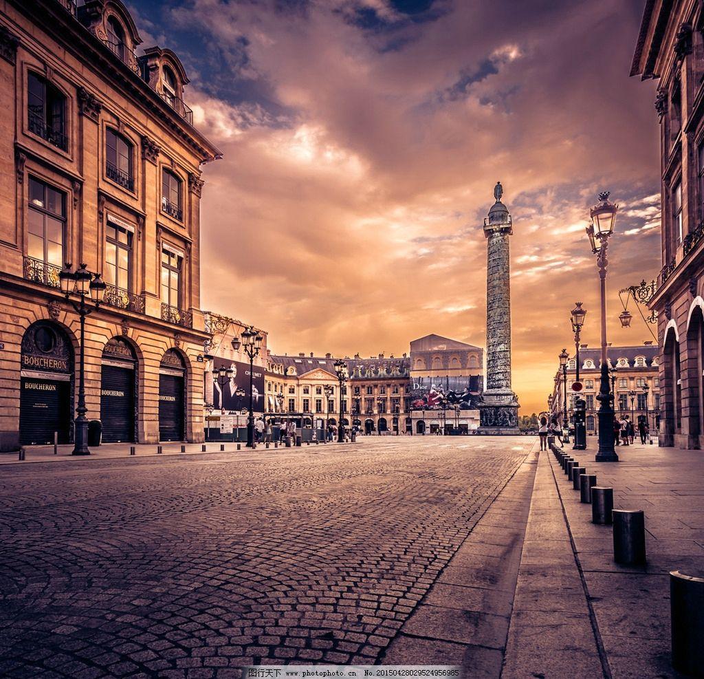 欧式建筑 风景素材 风景