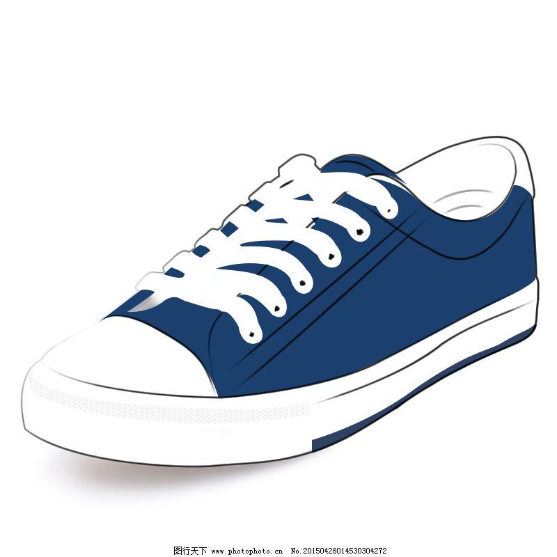 手绘布鞋免费下载 板鞋 布鞋 绘图 矢量图 鞋带 矢量图 布鞋 绘图 45