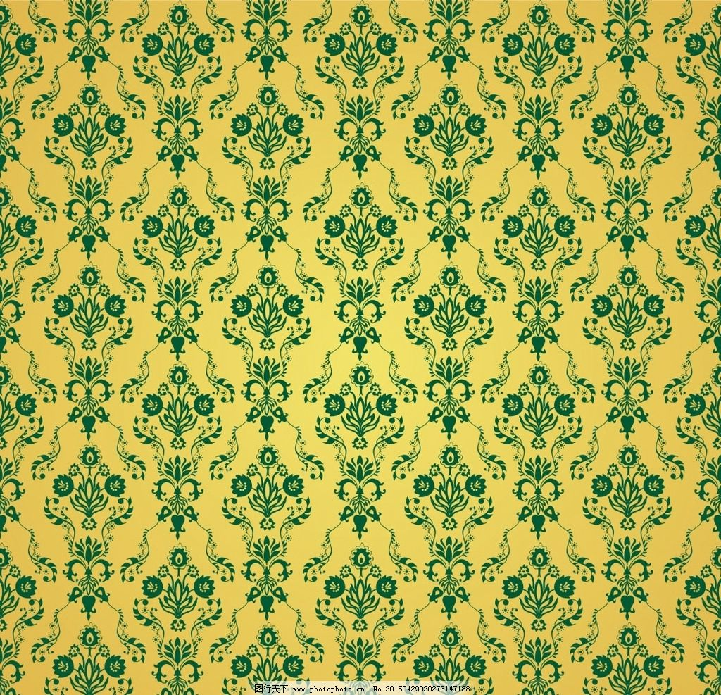 植物花纹背景 植物底纹 复古底纹 欧式背景花纹 植物底纹背景 背景