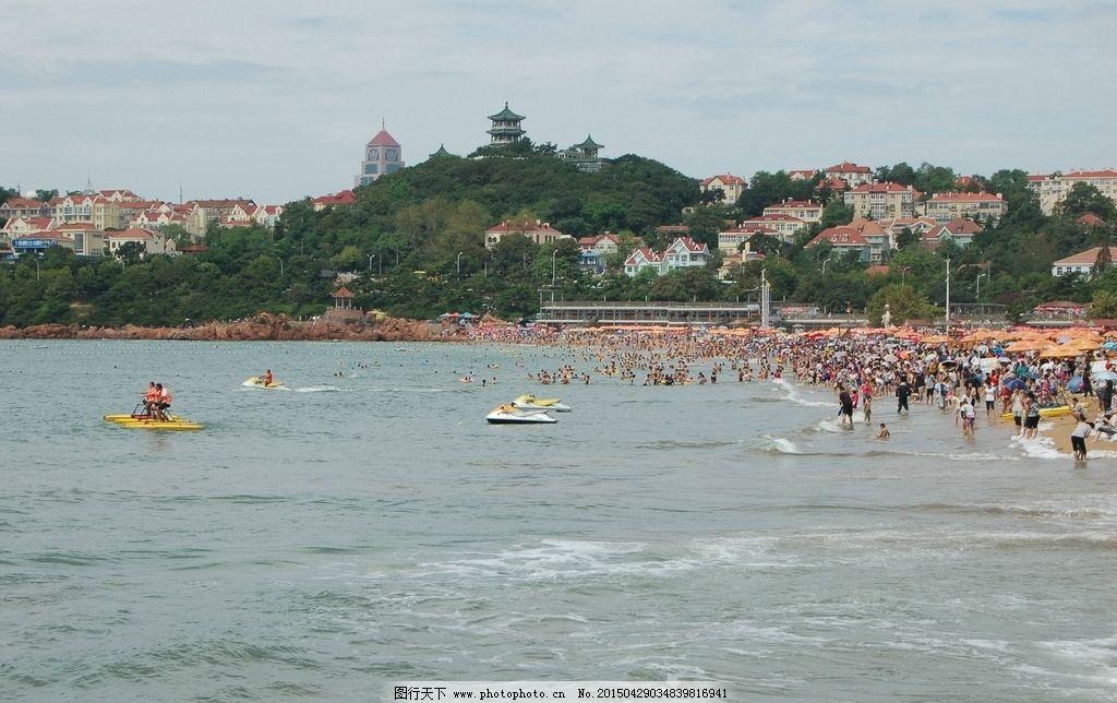 海边摄影 自然风景 青岛建筑风景 青岛自然风光 蓝天白云 青岛风景