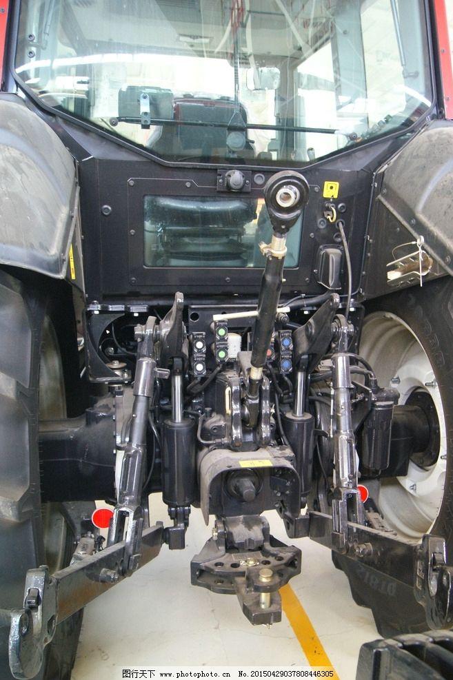 拖拉机液压后悬挂装置图片图片