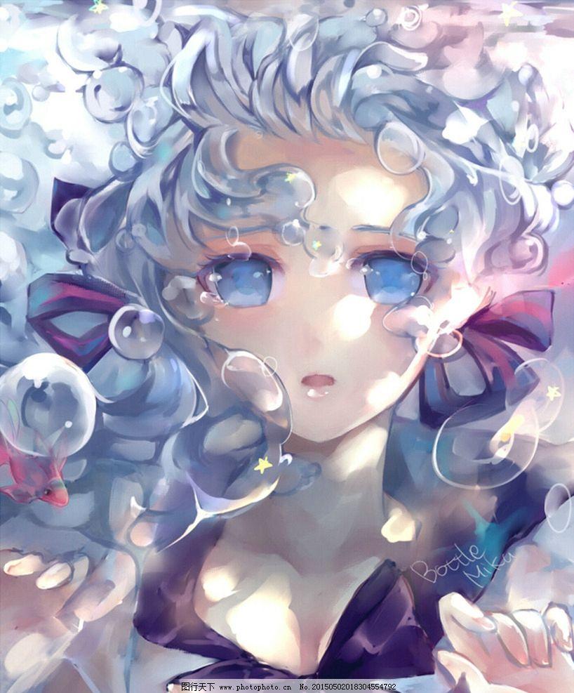 动漫 少女 唯美 悲伤 意境  设计 动漫动画 动漫人物 72dpi jpg