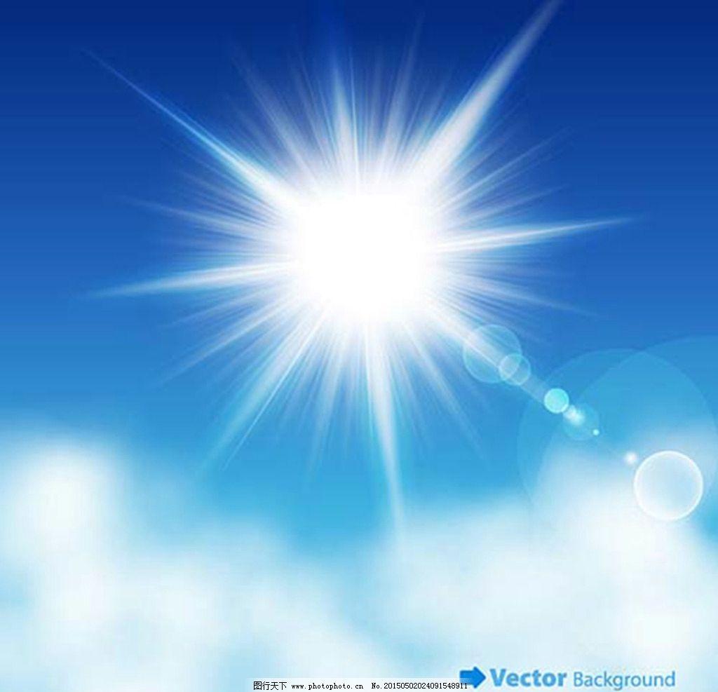 天空 手绘 光线