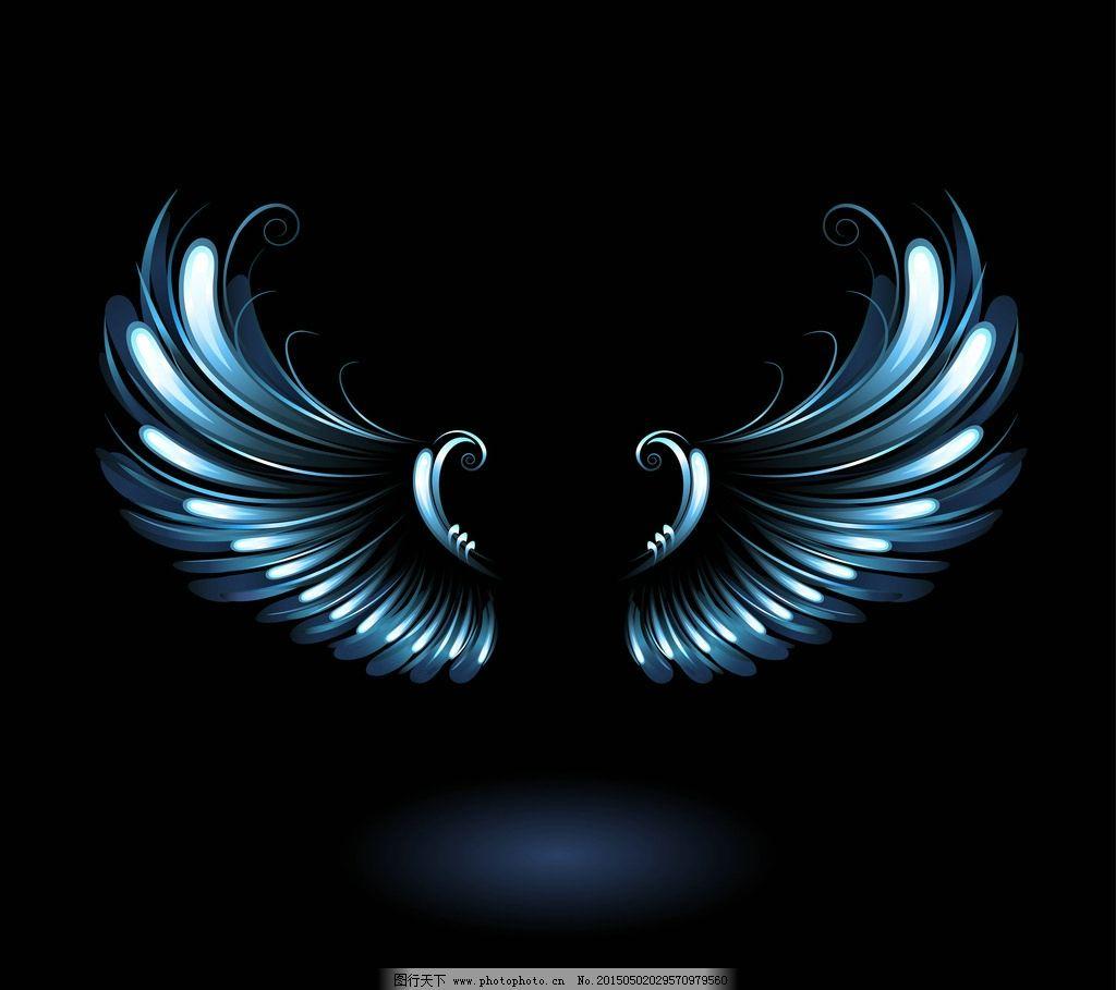 翅膀 天使翅膀 翅膀设计 翅膀素材 鸟类翅膀 纹身图案 手绘 设计 矢量