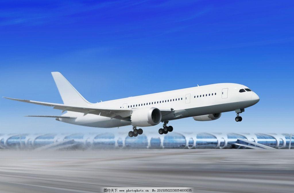 客机起飞 客机 boeing