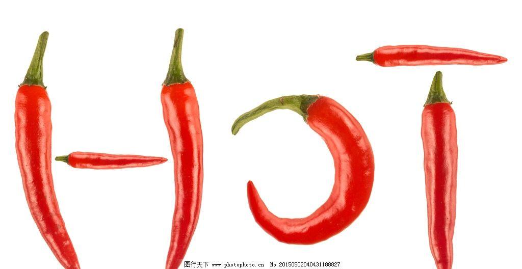 辣椒变形创意手绘