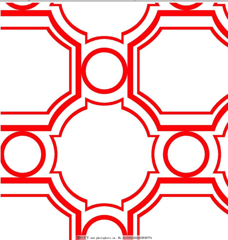 家纺图案 窗帘花型 平面设计 手绘花朵 抽象 图案 设计 底纹边框 几何