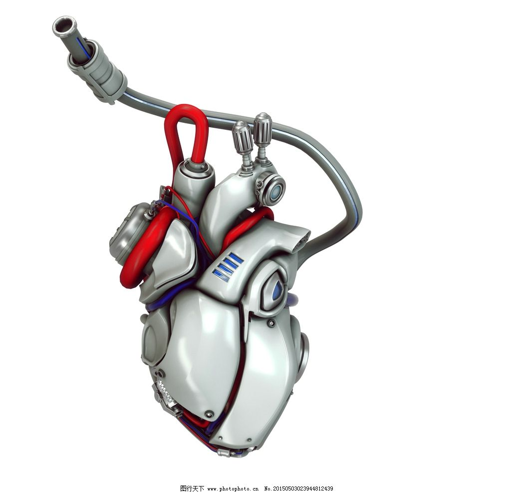 机器人心脏 创意 手绘 卡通动漫 动漫角色 科技时代 设计 设计 人物