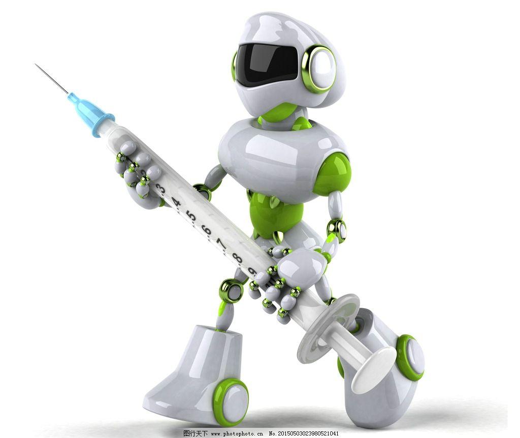 手绘 针管 卡通动漫 动漫角色 卡通机器人 科技时代 设计 设计 人物