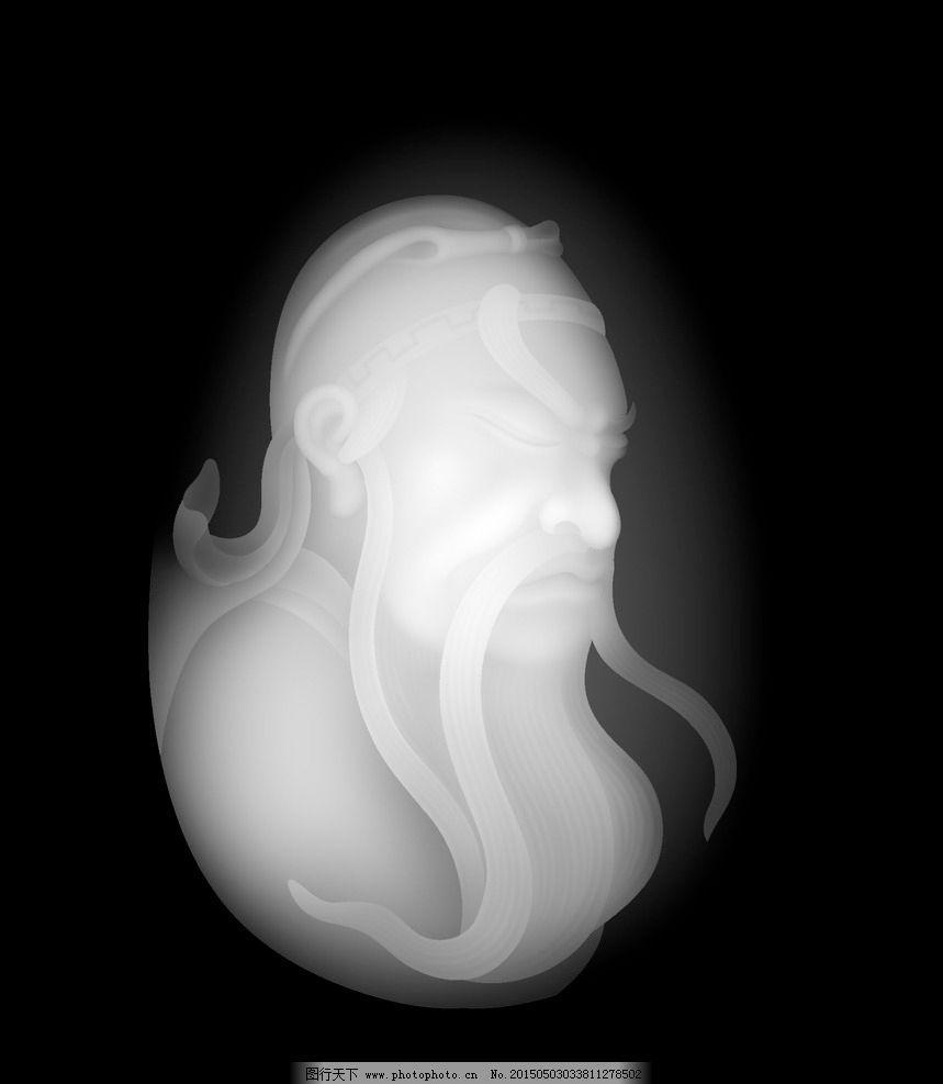 核雕 精雕图 灰度图 浮雕图