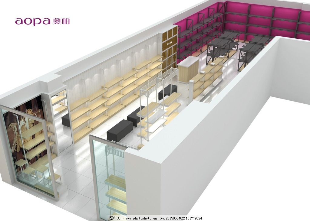 鞋店 鞋柜 展柜 柜子 商场  设计 3d设计 3d设计  max