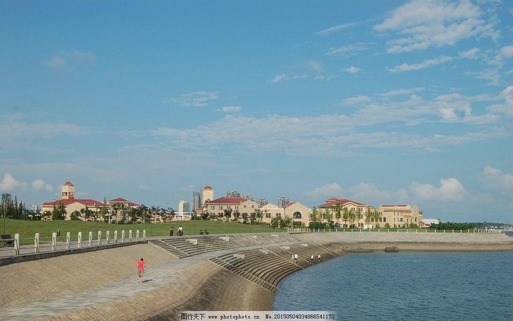 青岛摄影图片,唐岛湾公园 海边摄影 青岛建筑风景 -图