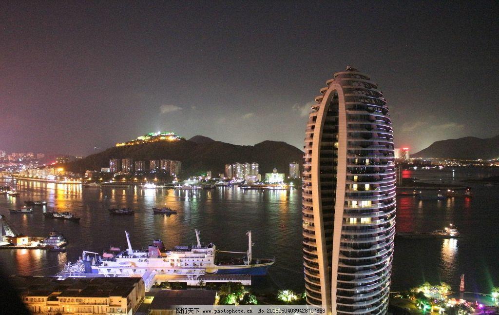 凤凰岛 帆船建筑 度假 海边 凤凰岛夜景 摄影 建筑园林 建筑摄影 72