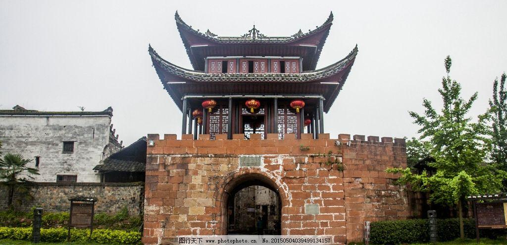 城楼 湘西 古建筑 中正门 城门 摄影 建筑园林 建筑摄影