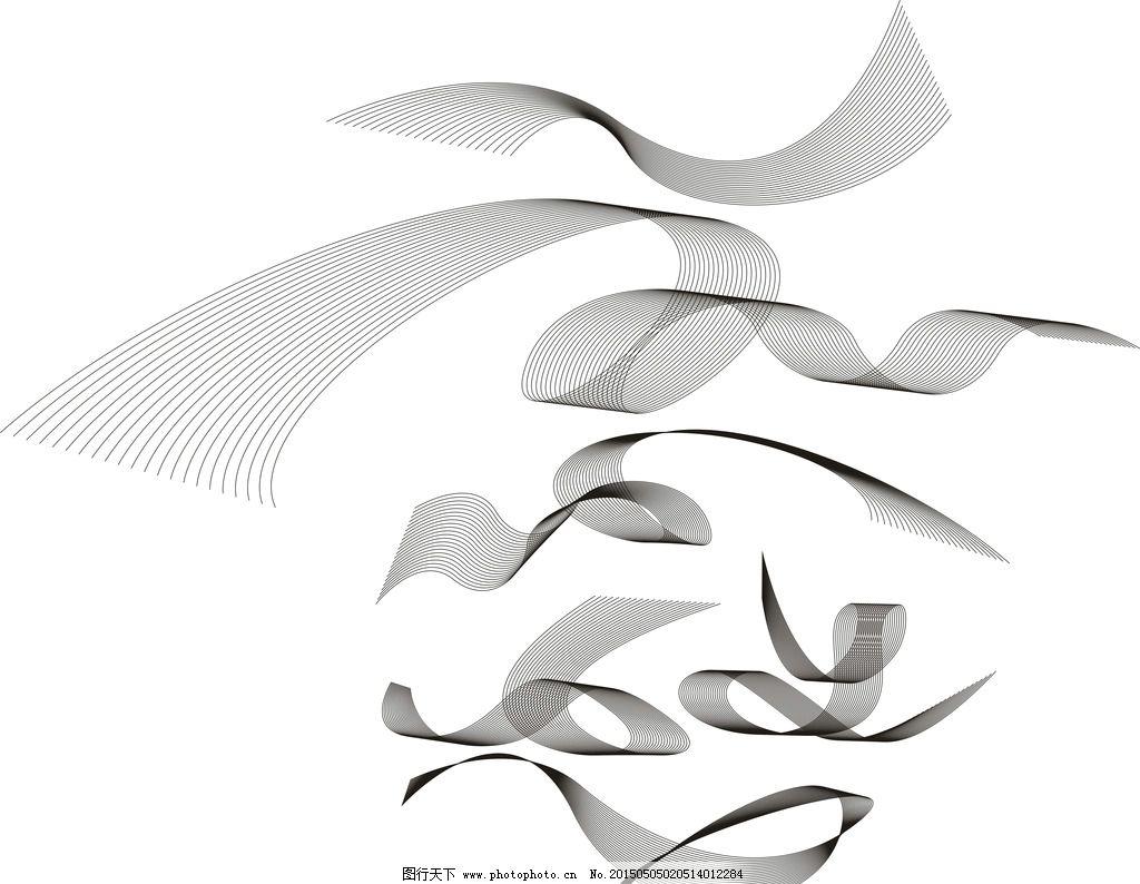 窗帘花型 平面设计 手绘花朵 抽象 图案 设计 底纹边框 几何 格纹图案