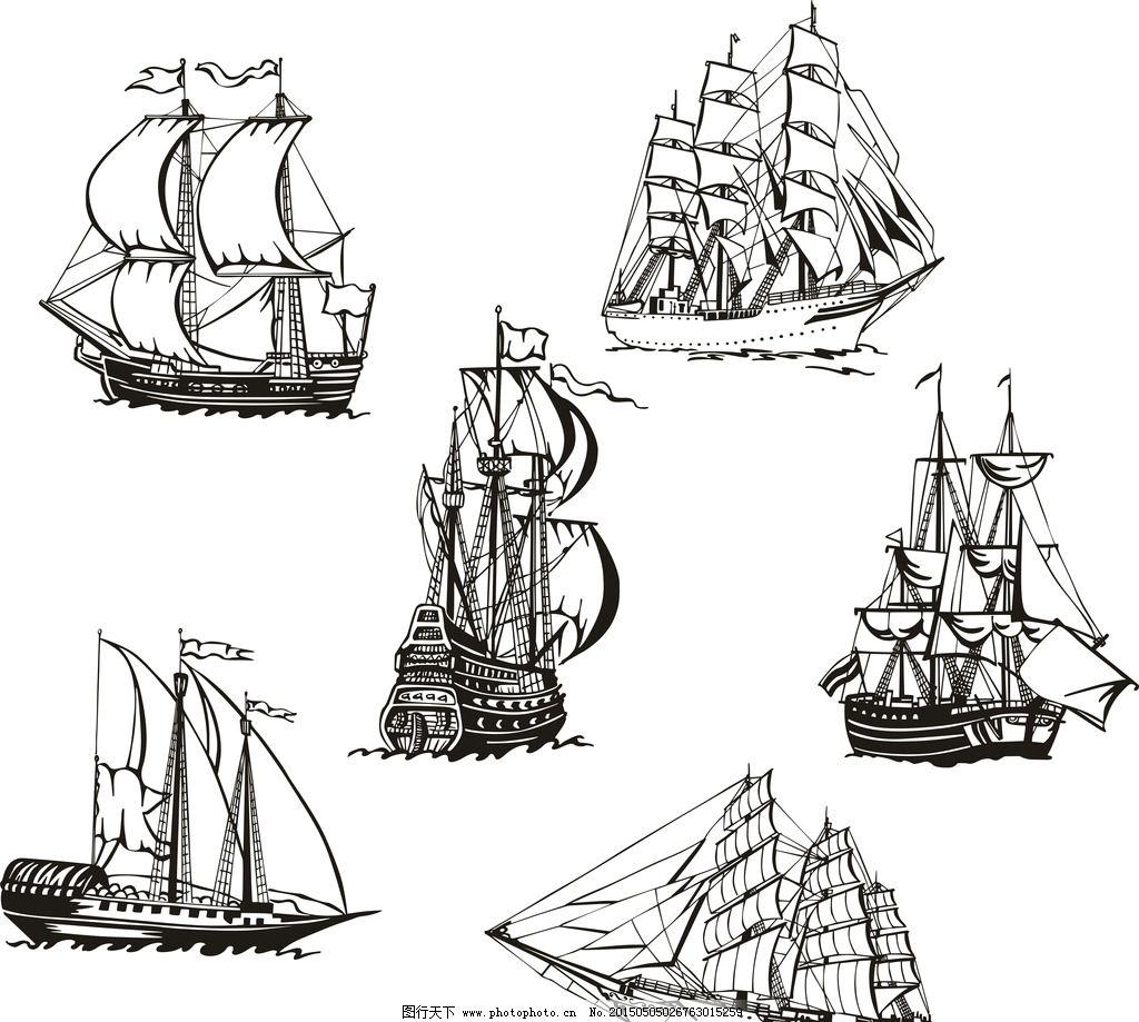 现代科技手绘简图片
