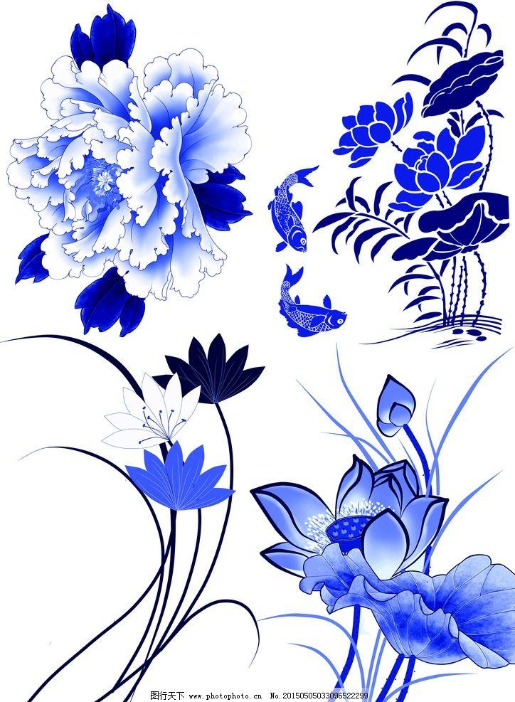 青花瓷素材图片