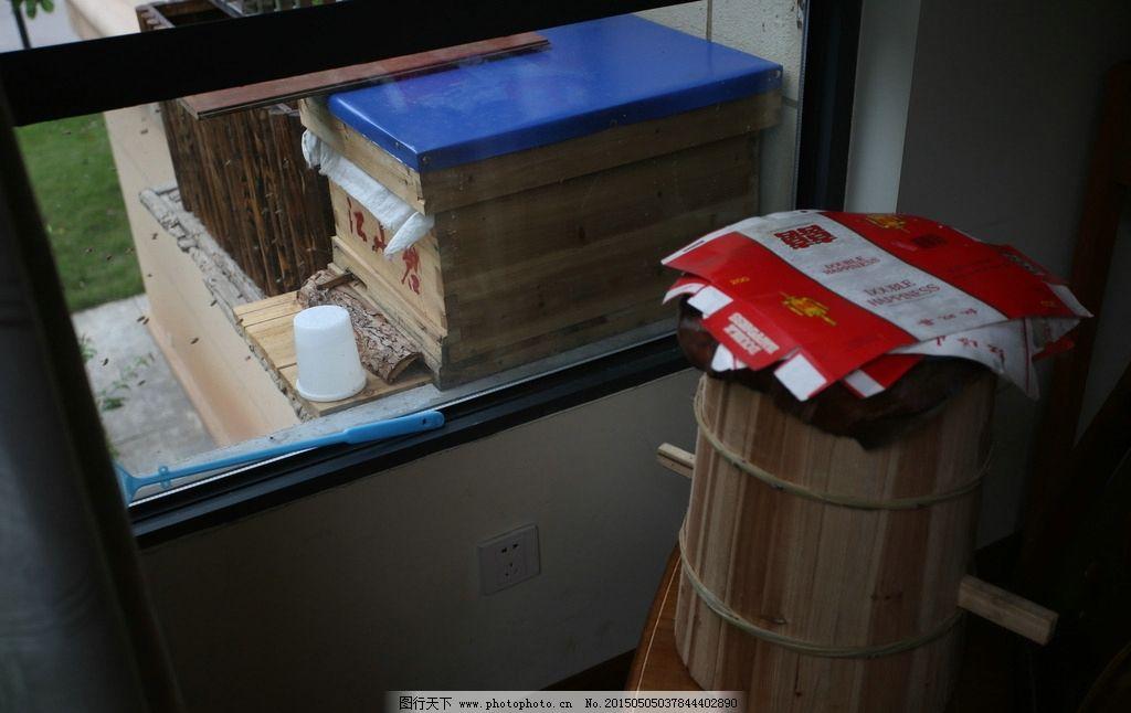 中华蜜蜂 蜂箱 杉木料
