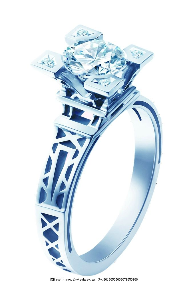 戒指 珠宝/恒信ido珠宝戒指图片