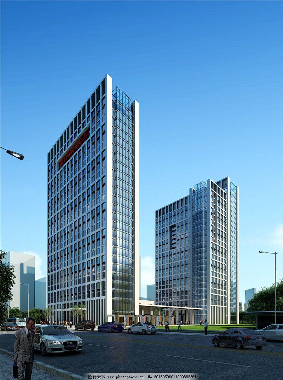 模型 欧式建筑 透视图 透视图 模型 线描 psd效果图 建筑园林 高楼