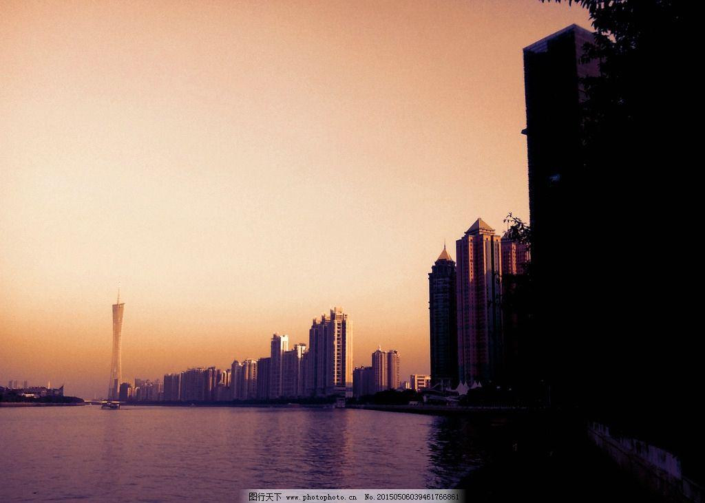 广州 广州塔 珠江 风景