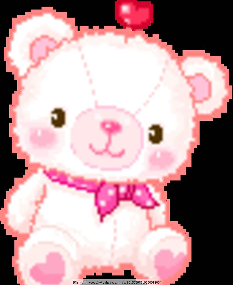 可爱小熊形象及表情动画设计欣赏