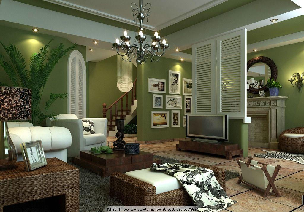 客厅效果图      简约 时尚 家装设计      简装 主卧 卧室模型 家装