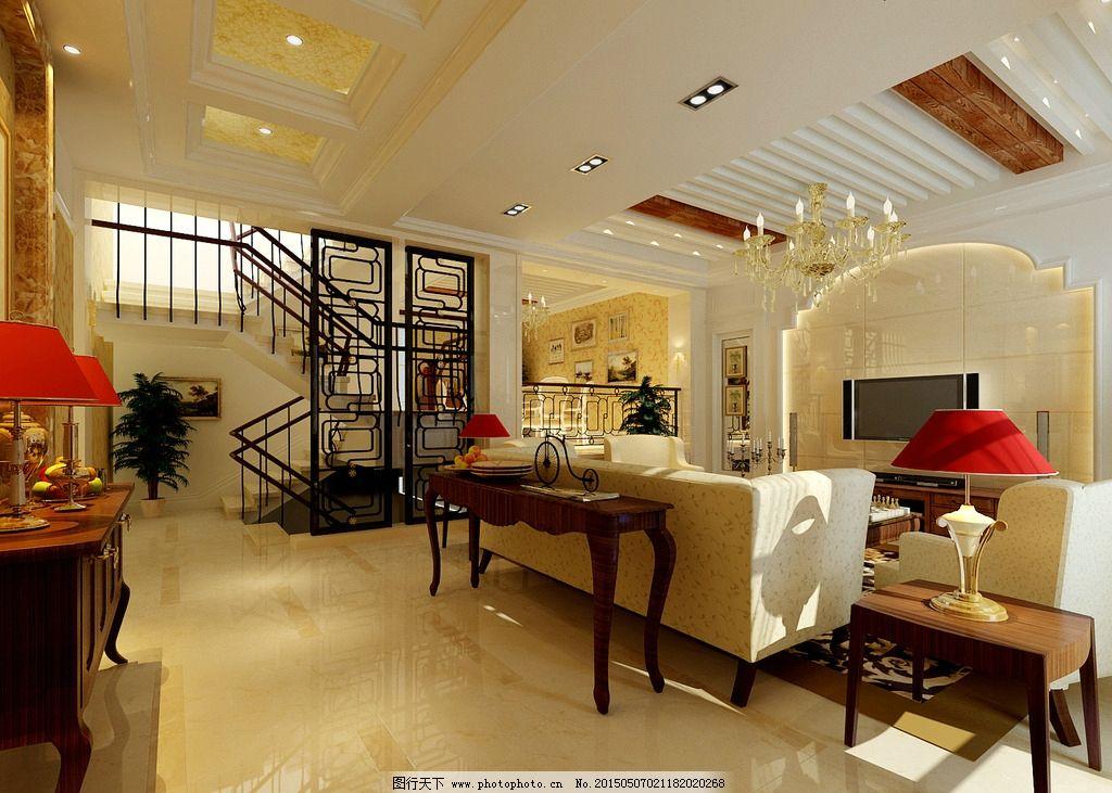 清新 室内效果图 客厅效果图      简约 时尚 家装设计      简装