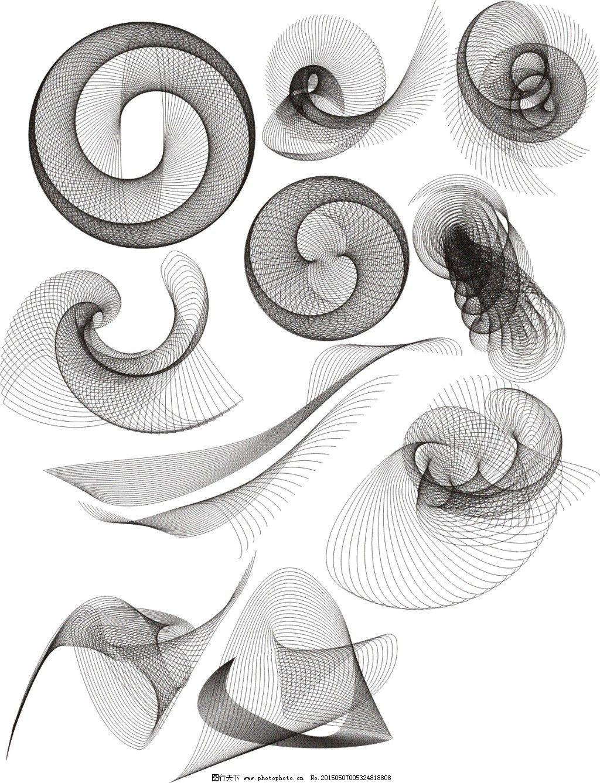 手绘线条会说话的图画