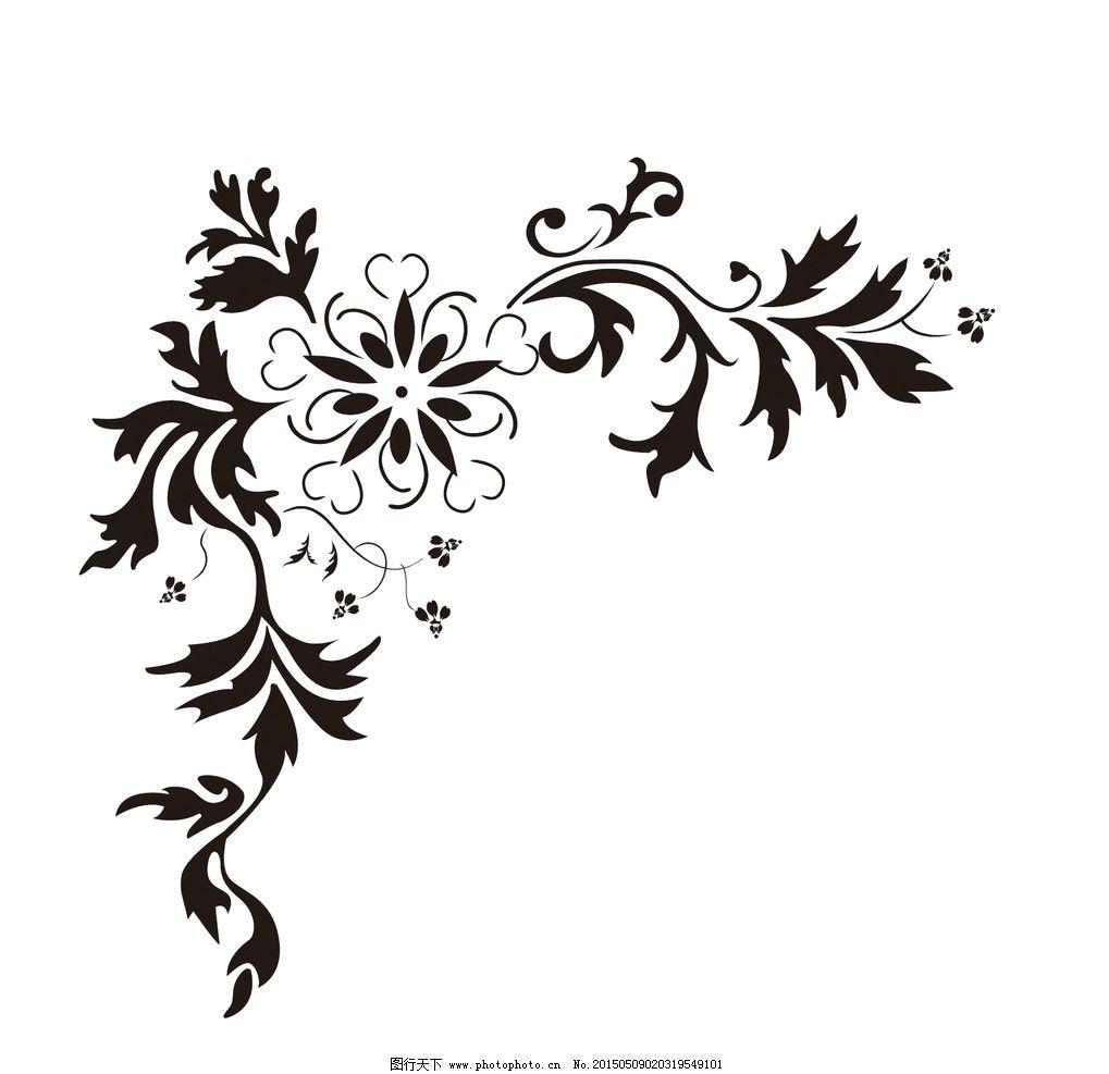 硅藻泥印花 对角花 液体壁纸印花 立洲印花施工 设计 底纹边框 花边花