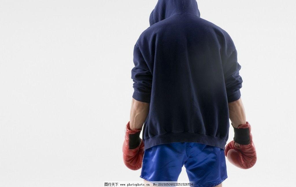 拳击手背影图片,男拳击手 健身 帅哥 传统比赛 酷男