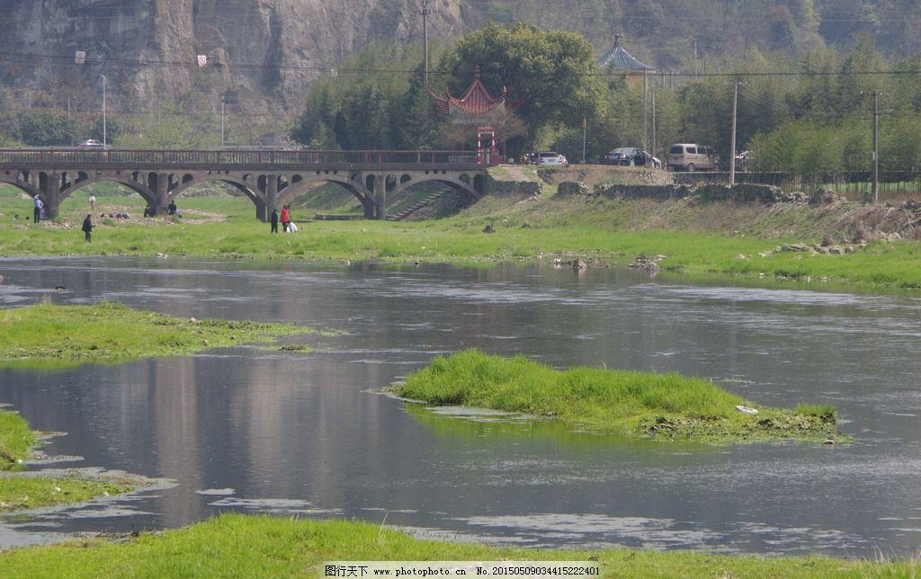春天的鄞江图片_山水风景