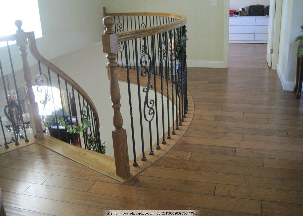 室内摄影 楼梯 实木楼梯 木制楼梯 木地板 扶手 室内设计 室内装饰