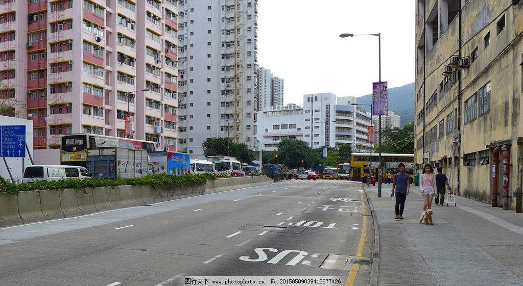 香港马路街景 湾仔 旅游 游记 尖沙咀 街道 大巴 风情 港岛