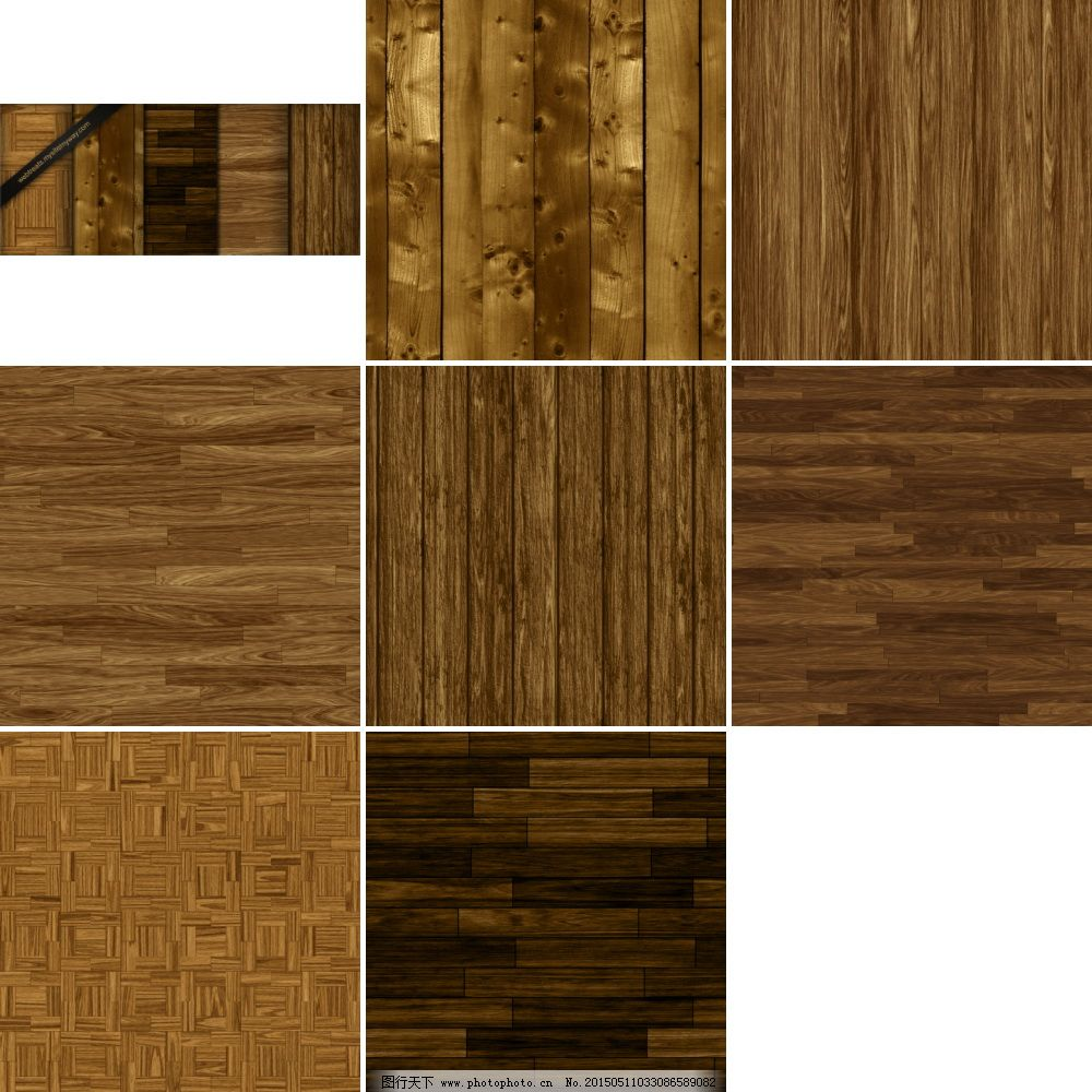 高清木板纹理ps图案素材