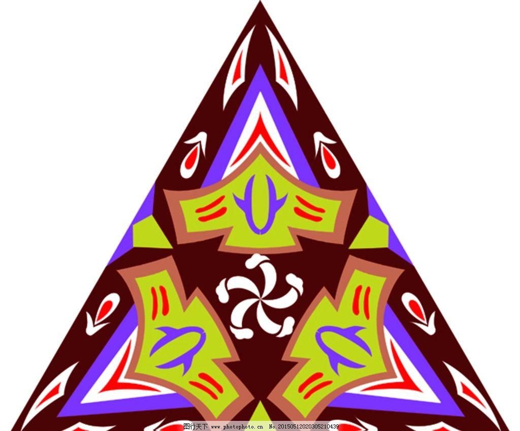 底纹边框 矢量花纹 ai 设计 三角形和圆形 设计 底纹边框 花边花纹