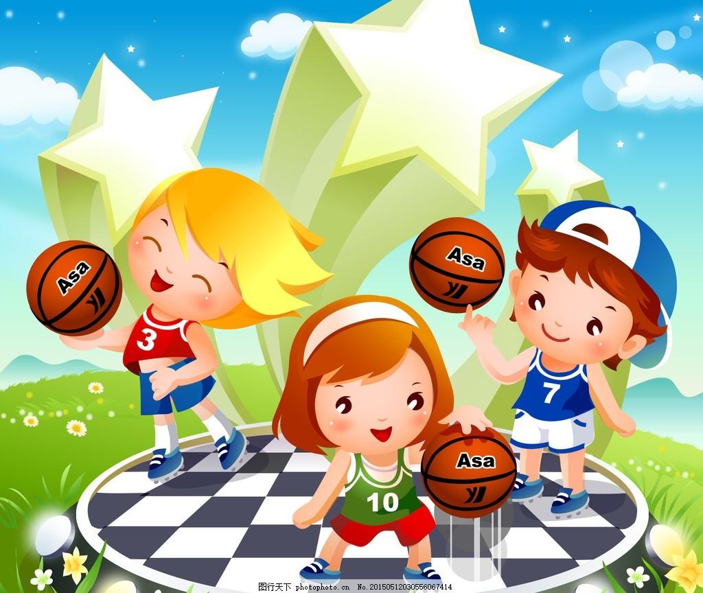 篮球人物 q版 女生
