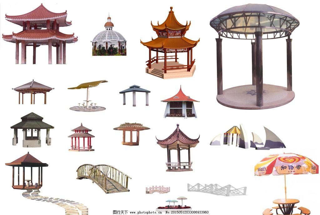 中式亭子 建筑 牌匾 psd 分层素材 塔 设计 psd分层素材 psd分层素材图片