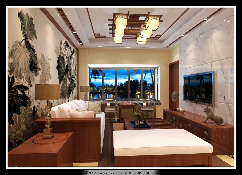 电视背景墙      中式 中式      电视背景墙 原创设计 原创装饰设计