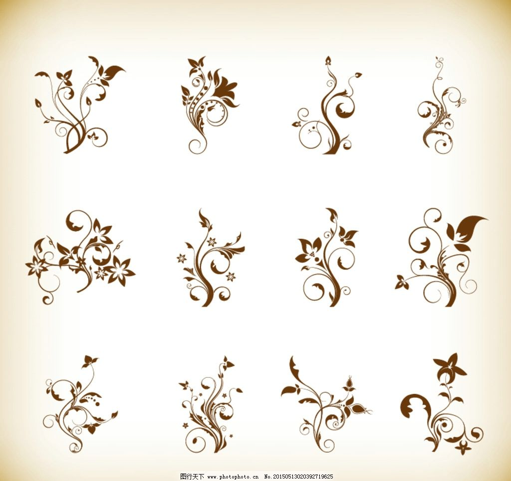 花纹 欧式怀旧复古 欧式怀旧花纹