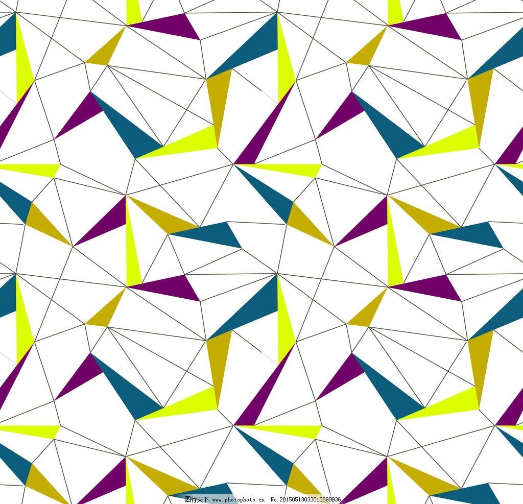 家纺图案 窗帘花型 平面设计 手绘花朵 抽象 图案 底纹边框 几何 格纹