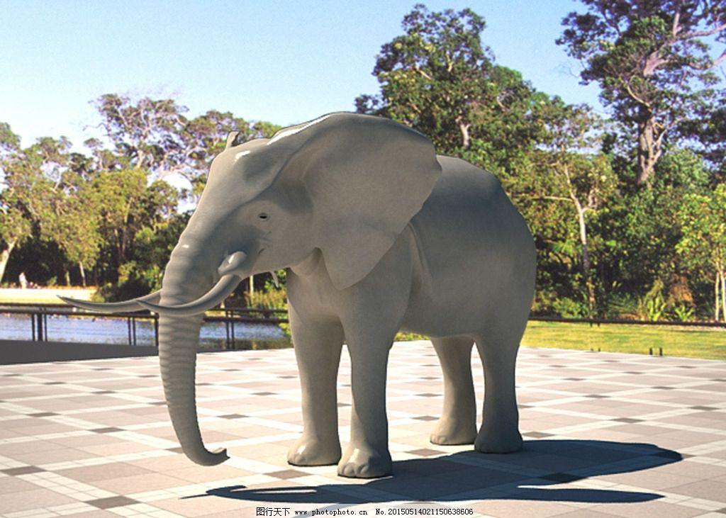 壁纸 大象 动物 1024_731