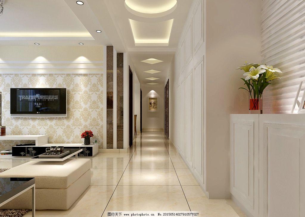 客厅走廊尺寸客厅大梁走廊图片1