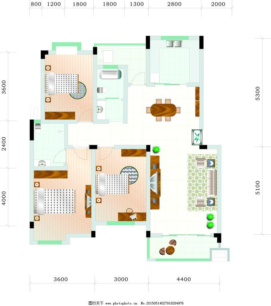 室内平面图 室内 室内设计 室内效果图 室内装饰 室内装修 室内门