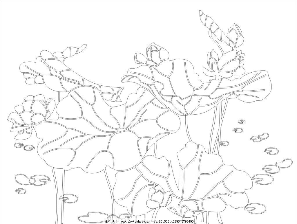 艺术玻璃 背景 树叶