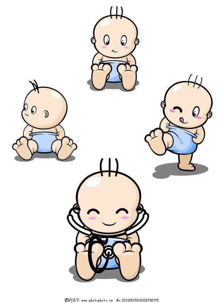 婴儿爬行简笔画_宝宝卡通图片_宝宝卡通图片画法