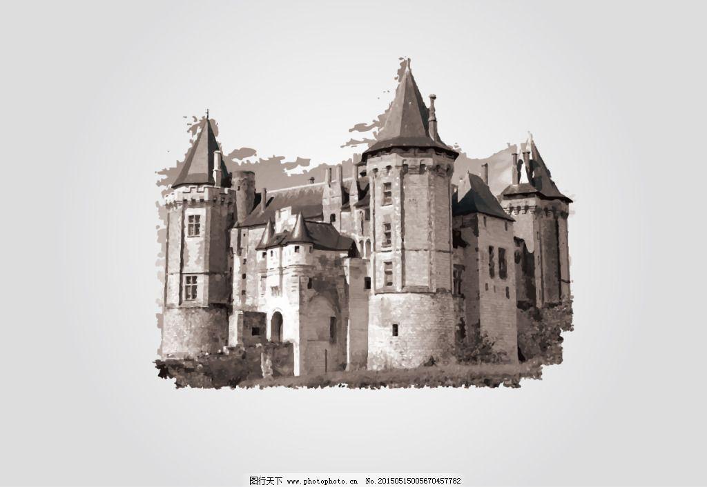 欧式城堡免费下载 lomo 城堡 复古 古典 欧式 素材 欧式 复古 lomo 城